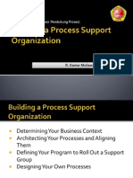 Building a Process Support Organization