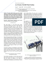 Analysis of Nordex N43-600 Wind Turbine