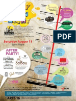 Dirty Linen Night Map 2012