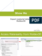 Moldex3D for Matereality - ShowMe