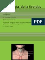 Semiologíade la tiroides