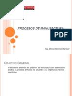 Procesos de Manufactura Unidad I