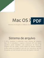 Sistema de Arquivo MAC