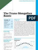 Trans Siberian Railway 4 Trans Mongolian Preview
