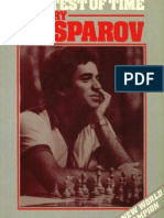Chess - Garry Kasparov - The Test of Time