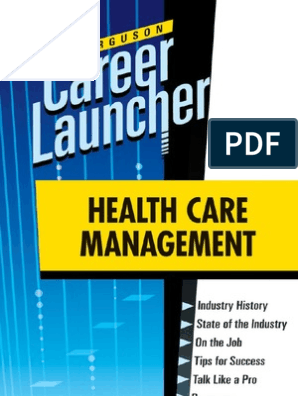 Managing Your Career in the Health Care Industry (Ferguson Career Coach)
