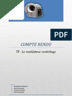 Compte Rendu Ventilo