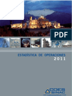 Estadistica Anual Coes 2011