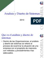Analisis y Diseño de Sistemas cap 1