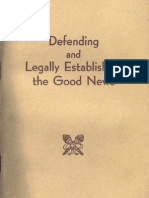 1950 Defending and Legally Establishing the Good News