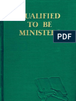 1955 Qualified to Be Ministers