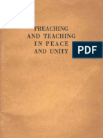 1960 Preaching Teaching Peace Unity