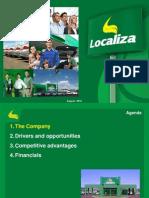 Localiza 2Q12