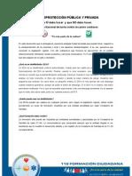 Carta información cardioprotección