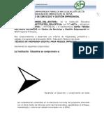 ACTA DE COMPROMISO 2012 DROPBOX