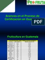 Certificacion Guatemala