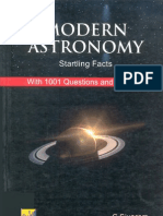 Modem Astronomy - Startling Facts
