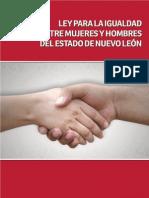 Ley para la Igualdad entre Mujeres y Hombres del Estado de Nuevo León