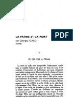 Esprit 3 - 193212 - Izard, Georges - La Patrie Et La Mort (Suite)