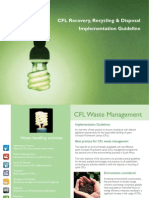 CFL recovering, recycling and disposal - Implementation Guideline