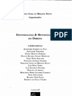 Camargo, Margarida Lacombe - Epistemologia e Metedologia Do Direito