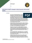 Oregon Audit, DHS-Reuniting Children With Their Parents or Caregiver, 2012