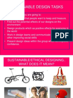 4 Sustainable Design Tasks