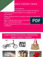 4 Sustainable Design Tasks