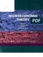 Micro Economics Theroy by Walter Nicholson