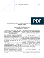 A Thermodynamics Relation in the Theory of Homogenous Nucleation