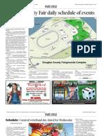 2012 Douglas County Fair Schedule