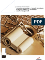 As NZS ISO IEC 27002-2006 Information Technology - Security Techniques - Code of Practice for Information Sec