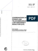 HB 101-1997 (CJC 5) Coordination of Power and Telecommunications - Low Frequency Induction (LFI)- Code of Pra