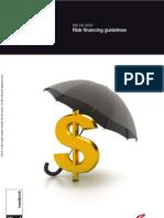 HB 141-2011 Risk Financing Guidelines