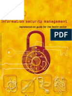 HB 174-2003 Information Security Management - Implementation Guide for the Health Sector