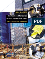 HB 2.2-2003 Australian Standards for Civil Engineering Students Structural Engineering