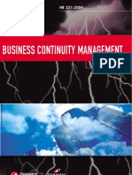 HB 221-2004 Business Continuity Management