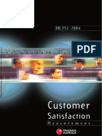 HB 251-2004 Customer Satisfaction Measurement a Handbook for Users of as NZS ISO 9001-2000