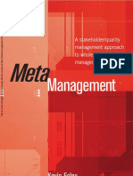 HB 265-2005 Meta Management a Stakeholder Quality Management Approach to Whole-Of-Enterprise Management
