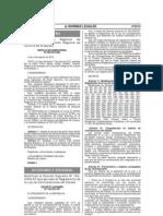 DECRETO SUPREMO Nº 138- 2012- EF QUE MODIFICA EL REGLAMENTO DE LA LEY DE CONTRATACIONES DEL ESTADO