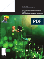 HB 29-2007 Communications Cabling Manual - Module 2- Communications Cabling Handbook