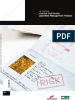 HB 294-2006 National Post-Border Weed Risk Management Protocol