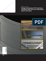 HB 305-2008 Design Handbook for RC Structures Retrofitted With FRP and Metal Plates- Beams and Slabs