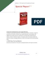 Dog Training Masters – The Importance Of Leadership Training