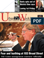 Urban Pro Weekly, August 9, 2012