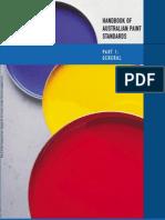 HB 73.1-2005 Handbook of Australian Paint Standards General