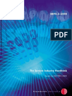 HB 90.2-2000 the Service Industry Handbook - Guide to ISO 9001-2000 the Service Industry Handbook - Guide To