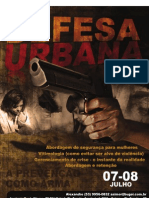 Cartaz - Defesa Urbana Data Final