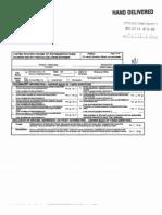 Rick Berg's 2011 Personal Financial Disclosure Form