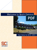 Welcome to South Campus 2012